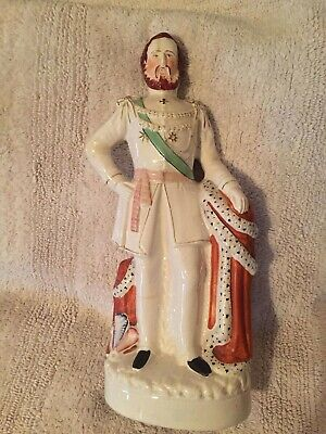 Antique 19th Century Large Staffordshire figure of a king