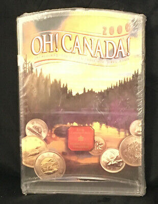 """Canada/"""" 2000 UNC Coin Set /""""Oh"""