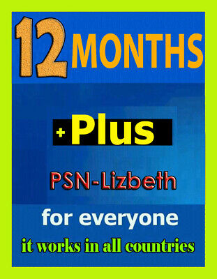 PS Plus 12 MONTHS PSN Plus (No Code) WORLDWIDE