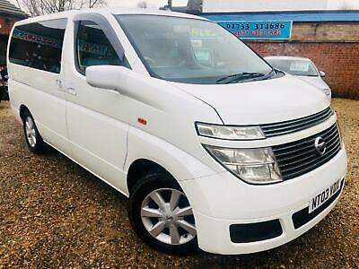 NISSAN ELGRAND  3.5 2003 Petrol Automatic in White