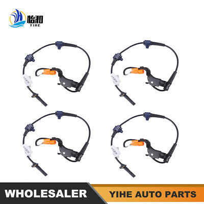 1 Set ABS Wheel Speed Sensor For CRV 02-06 Front-Rear Left /& Right 57450//55-S9A