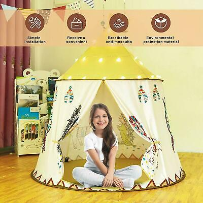 Indoor Kids Tent Play Tent Teepee Tent for Kids Pop Up Foldable Playhouse Toy