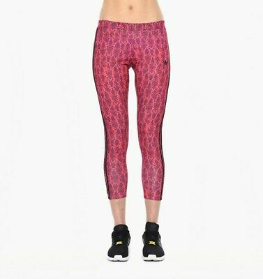 Leggings Adidas Donna Aj8661 Soccer Leggins Tights Collants Multicolor Rosa Pink
