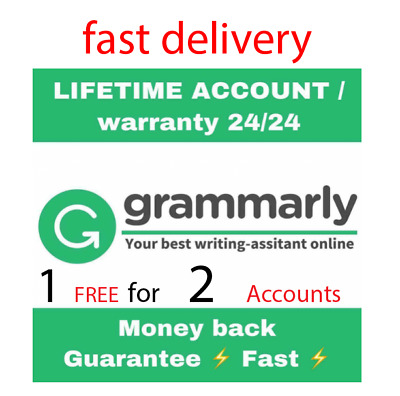   SALE   Grammarly PremiumOne Year Account  with Warranty  [Fast Delivery] 100%