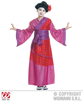 Girls China Girl Costume Oriental Chinese Mandarin Eastern Fancy Dress Outfit