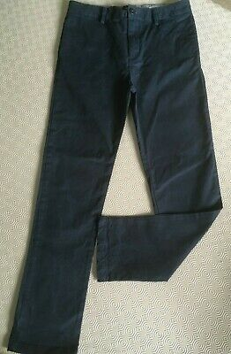 River Island Boys Slim Leg Trousers  Age 12 Years  Ex Cond
