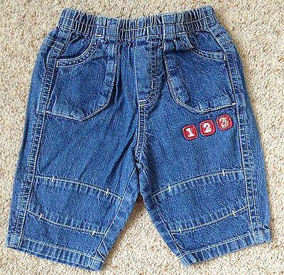 Baby Boys Denim Jeans From Next  Age 0-3 Months  Ex Cond