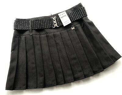 Girls Black pleated Skirt Aged 13 Years Rrp £14 🤕