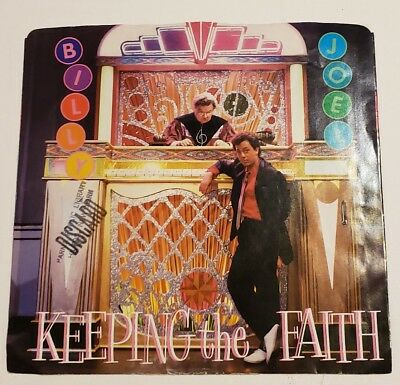 Billy Joel - Keeping The Faith 45rpm Picture Sleeve Columbia 38-04681