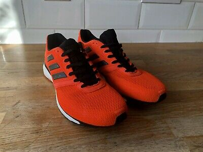 ADIDAS ADIZERO ADIOS 4 Boost Womens Running Shoes Orange