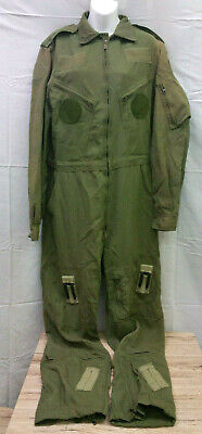 Lot Of 2 Canadian Air Force Flight Suit Coveralls RCAF Black Friday Sale Sz 7644