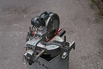 Cross cut wood mitre saw good condition 255 blade blade can be changed for metal