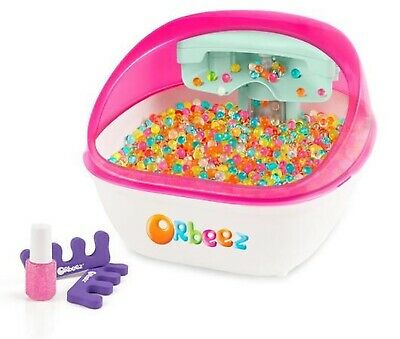Orbeez Multicoloured Soothing Children's Foot Spa Includes Nail Polish Kit! SALE