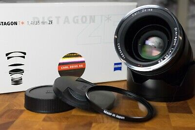 Carl Zeiss ZE 35mm F1.4 Distagon for Canon EF Mount Near Mint