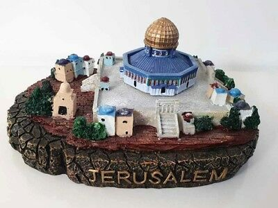 Vintage Amazing Resin Souvenir for Jerusalem , Aqsa Mosque , Dome of the Rock