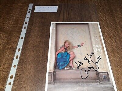 #Z87 Camilla Dallerup(Denmark/Strictly Come Dancing)Hand Signed Autograph Photo