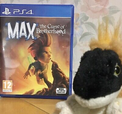 MAX THE CURSE OF THE BROTHERHOOD PLAYSTATION 4 PS4 like Unravel Inside Rayman