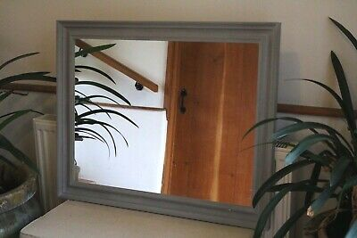Made To Order Bespoke - Wood - Farrow & Ball - Painted Mirror 800x600mm