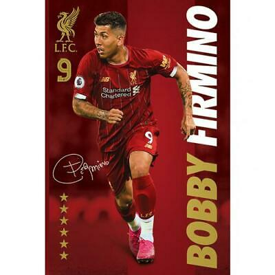 Liverpool FC Official Large Bobby Firmino Poster.