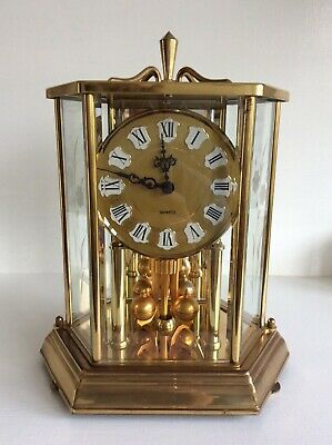 Kieninger and Obergfell Kundo Quartz Clock Etched Glass