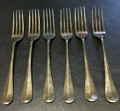 Silver plated Cutlery 6 Forks, EPNS A1