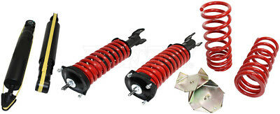 Fits 1993-1998 Lincoln Mark Viii Front Rear Air Suspension Shock Delete Kit