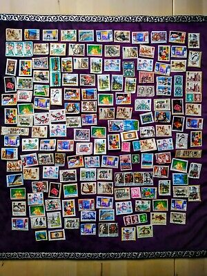 Job Lot of Mixed Used Random Stamps, 170 Items, UK, International, Foreign