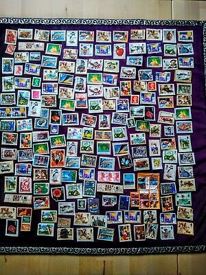Job Lot of Mixed Used Random Stamps, 180 Items, UK, International, Foreign