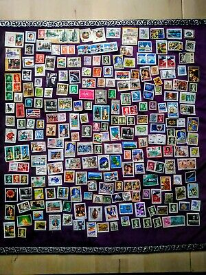 Job Lot of Mixed Used Random Stamps, 240 Items, UK, International, Foreign