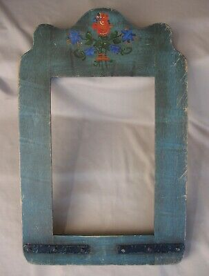 Authentic Monterey Furniture Floral Mirror Frame Branded *WOW!*