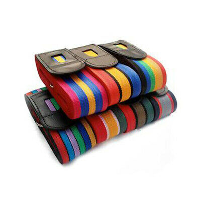 4.2m Cross Luggage Strap Belt Secure Durable for Travel Suitcase Baggag #3YE