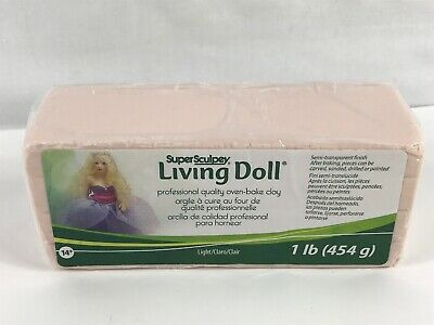 M00093x6 MOREZMORE 6 lb Living Doll BABY Polymer Clay Super Sculpey