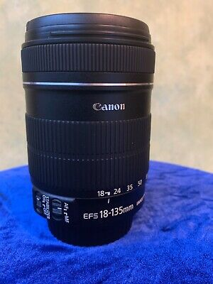 Canon EF-S 18-135mm F/3.5-5.6 IS Used Very Good Condition