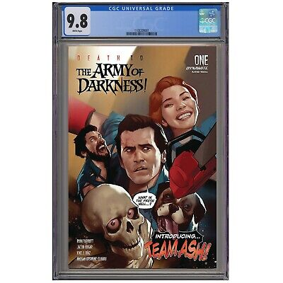 DEATH TO THE ARMY OF DARKNESS #1 CGC GRADED 9.8 Guaranteed PRESALE