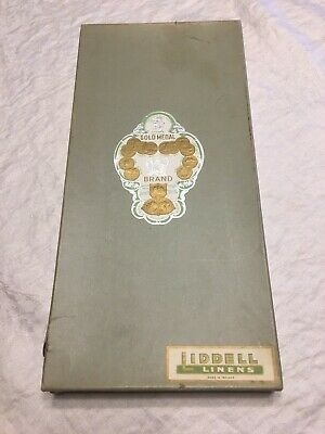 """White Irish Linen Damask Table Cloth 101""""x 63"""" and 11 Napkins, """"Rose"""" with box"""