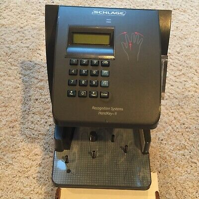 Schlage HK-II HK-2 HandKey II Recognition Systems Biometric Reader