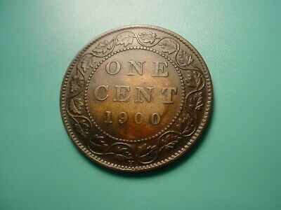 Canada 1900-H Large Cent In Very Nice Condition