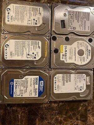 "Mixed Lot 30 Name Brand 160 GB SATA 3.5/"" Desktop Hard Drives Tested Used"
