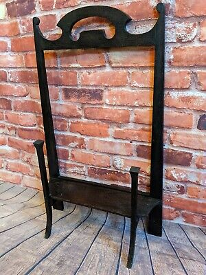 Gothic handmade Antique Arts and Crafts Fire Screen - needs new fabric