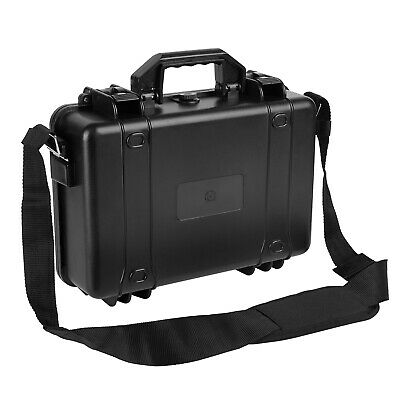 Protective Equipment Hard Carry Case Plastic Box Camera Travel Protect W/Strap