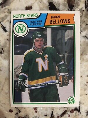 MINT 1983-84 OPC Brian Bellows ROOKIE North Stars Canadiens Tampa Bay Lightning