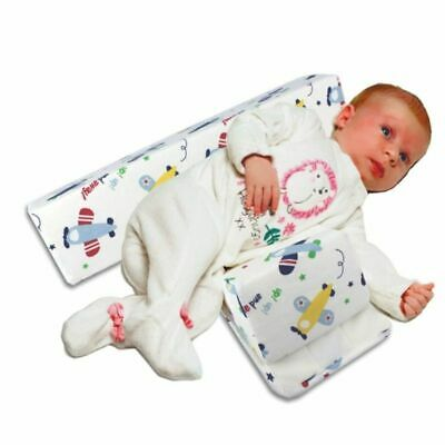 Newborn Infant Baby Side Sleeping Pillow Washable Anti-head Shaped Pillow