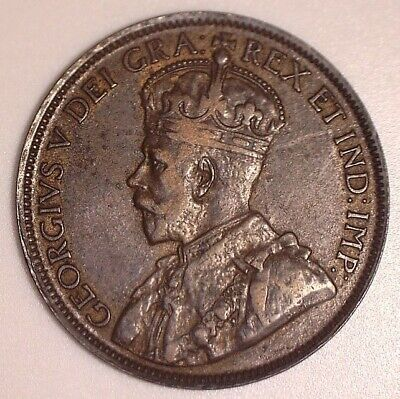 1918 CANADA Large Cent - very nice grade