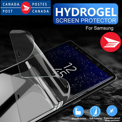 For Samsung Galaxy S8 S9 S10 Plus S10E Full Coverage Hydrogel Screen Protector