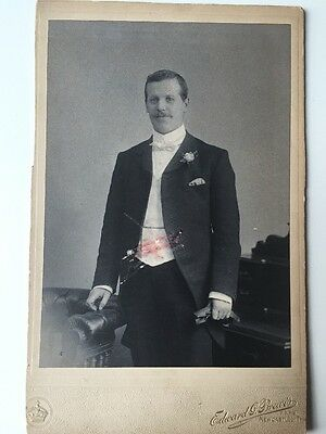 Victorian Photo: Cabinet Card - Brewis - Newcastle On Tyne - Gent