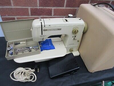 Bernina 707 Minimatic Cased Cw Accessories Lovely & Clean Throughout