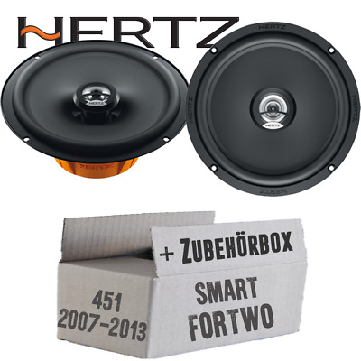 Smart Roadster 03-05 Pioneer altavoces boxeo 130mm coaxial Front