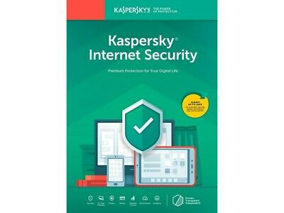Kaspersky Internet Security 2020 1 Pc 1 Year Global Key