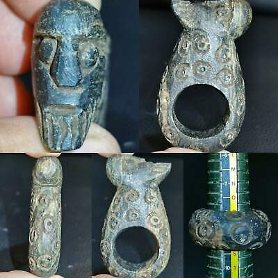 Very Old Unique Rare Giant Stone with Face Head  # 121