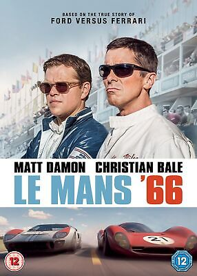 Le Mans 66 (aka Ford vs. Ferrari) [DVD] RELEASED 23/03/2020